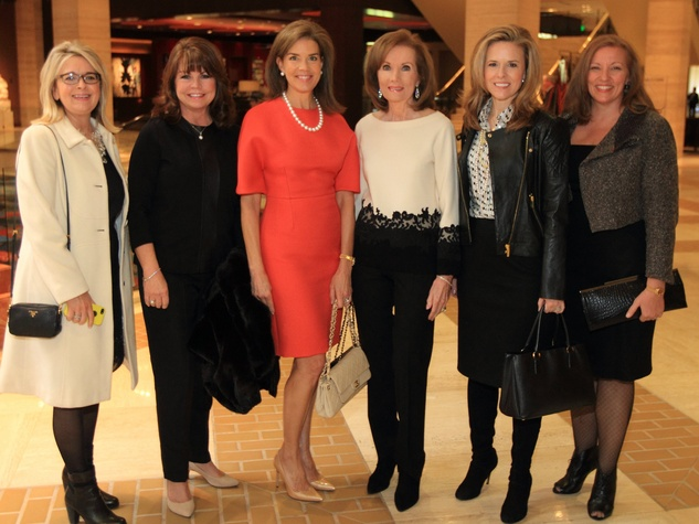 Denise Priewe, Patricia Daniel, Lisa Troutt, Martha Copeland, Heather Cooper and Marla Ford, DTMG Luncheon
