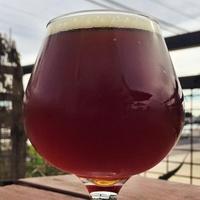 Black Star Co-op barrel-aged vanilla Double Dee copper ale beer glass 2015