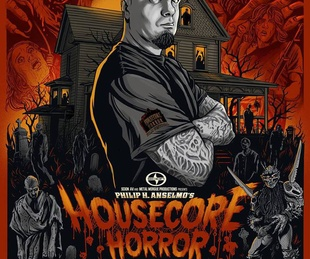 poster for Housecore Horror Film Festival with Philip Anselmo