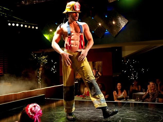 Magic Mike, Joe Manganiello, on stage