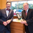 Brad Marks and Gary Petersen at IW Marks Jeweler