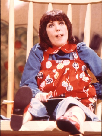 Lily Tomlin, Laugh Inn, Edith Ann, rocking chair