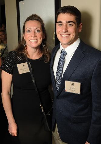 MaryEllen Picciuto and Corey Picciuto at the Johnny Mac Soldiers Fund Inaugural Houston Gala April 2015