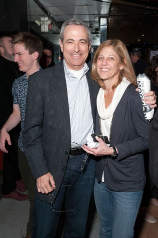 Judy and Michael Feinstein at Charity in Song featuring Book of Mormon cast