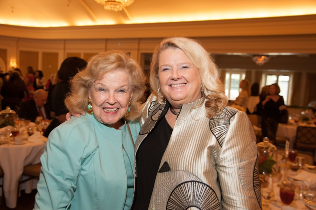 News, shelby, Foundation for Teen Health luncheon, Oct. 2015, June Waggoner, Liz Quisenberry
