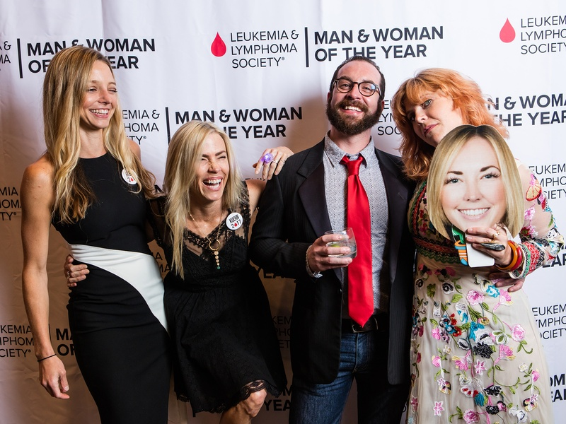 Leukemia & Lymphoma Society's Man and Woman of the Year Grand Finale Gala 2017 Ashley Arera Leah Lee Lance Davis Emily Pratte