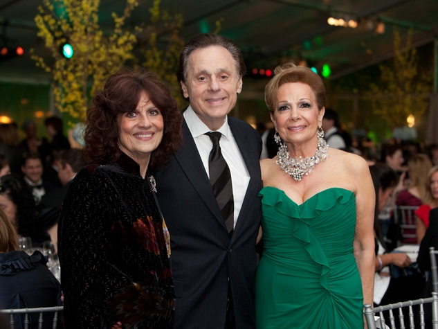 11 Donna and Tony Vallone, from left, with Philamena Baird at Gala on the Green February 2014