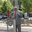Market Square mural dedication with Gonzo247 May 2013 speaker