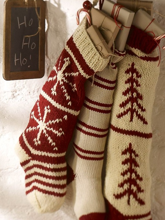 Finding the perfect christmas stocking to hang by