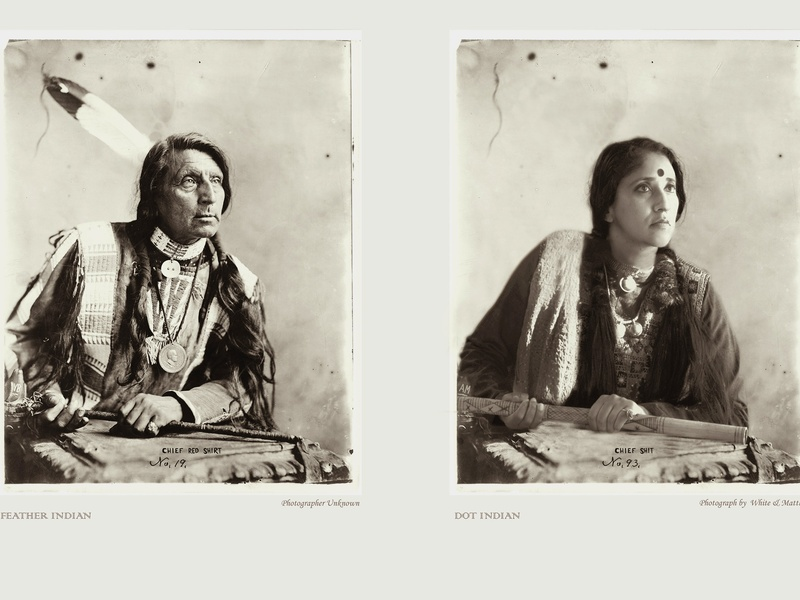 Feather Indian, Dot Indian - FotoFest