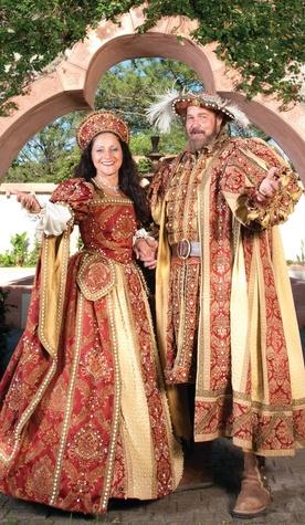 Texas Renaissance Festival king and queen