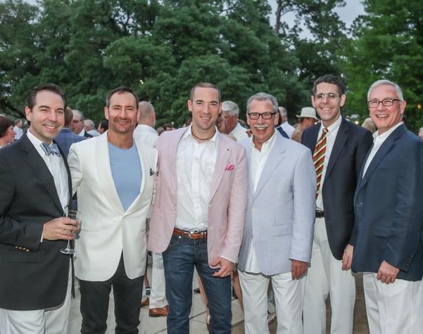 Hermann Park Evening in the Park 5/16, Jim Nelson, Dean Putterman, Ed Finger, Ed Smith, Richard Lapin, Gary Pittman.