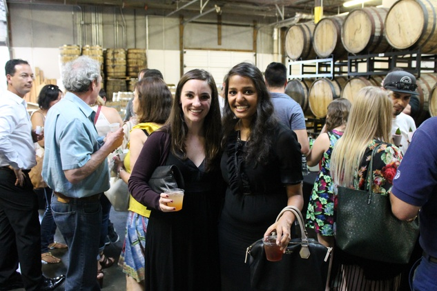 Houston, Houston Young Lawyers and South Asian Bar Associations YP Event, June 2015, Betsy Stukes, Nishi Kothari