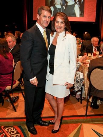 Holocaust Museum, Guardian of the Human Spirit Award luncheon, November 2012, Eric Blumrosen, Tali Blumrosen