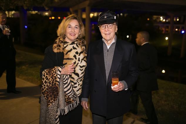 3 Barbara and Gerald Hines at the Buffalo Bayou Ball November 2014