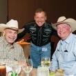 Finalists Greg McMillan, Scott Pettit, Dwayne LeJune at HEB Primo Picks party
