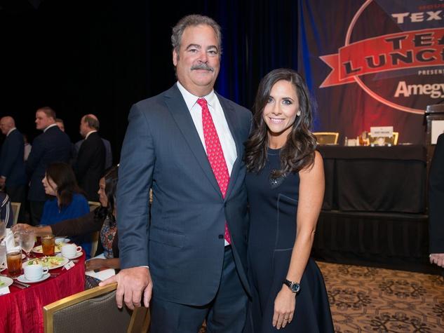 Texans Team Luncheon, 8/16 Cal McNair, Hannah McNair