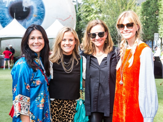 Kim Dodson, Lauren Mealy, Posey Mealy, Chandra Johnson, Puppies in the Park 2017