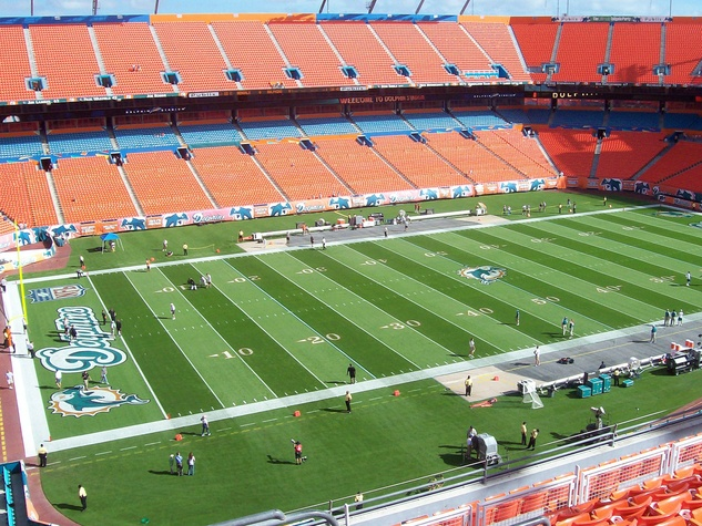Miami Dolphins Dolphin stadium football stadium