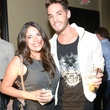 Nora Villarreal and Casey Clay at the ZooZa Event at Hotel ZaZa August 2014