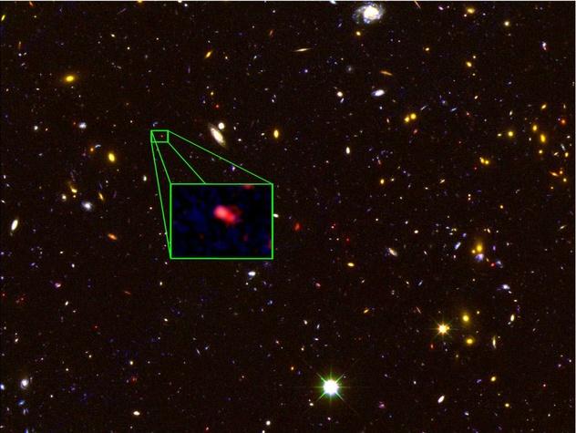 galaxy farthest