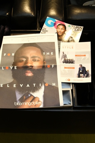 Clifford Pugh New York Fashion Week fall 2015 James Harden appearance at Bloomingdale's February 2015 NBA BLM Mailer