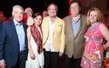 Casa de Esperanza dinner 4/16 Tom Koch, Lucia Cordua, Michael Cordua, Alex Brennan-Martin, Robin Brennan-Martin