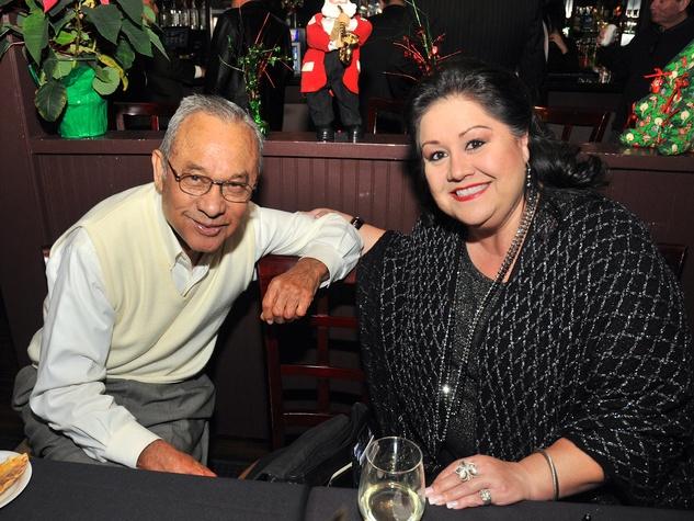 3, Hispanic Advisory Board party, December 2012, Felix Fraga, Michele Fraga