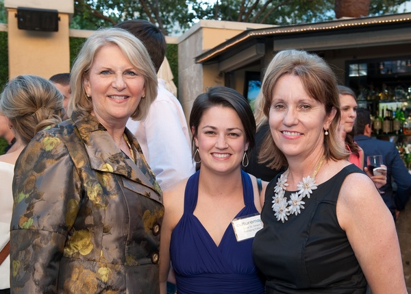 Jeanne Culver, Claire St. Amant, Becky Powell Schwartz
