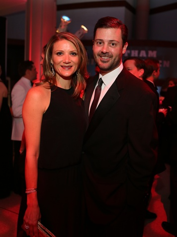 Stephanie and Ernie D. Cockrell at the Museum of Natural Science Gala March 2014