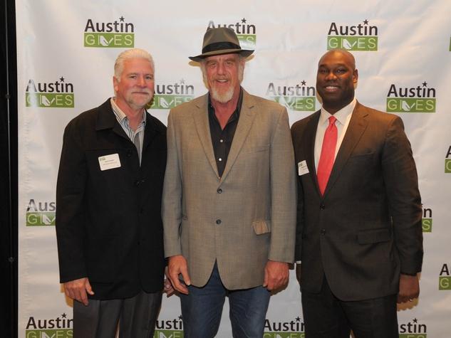 Austin Gives' 3rd GeneroCity Awards Steve Visser Ray Benson Ed Kargbo