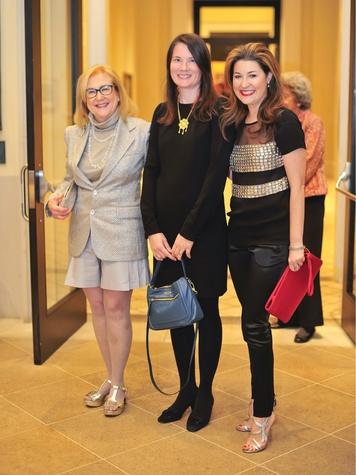 Debbie Ryan, Kathleen Roglán, Capera Ryan, Meadows Reception