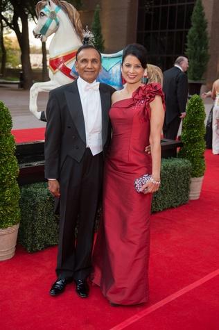 Houston Grand Opera Ball, 4/16 Suresh Khator, Renu Khator