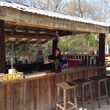 Outdoor bar at The Lot in East Dallas