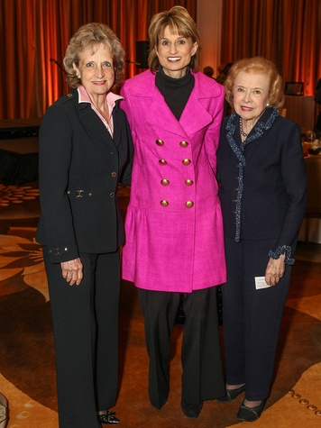 Harriet Miers, Leslie Crozier, Betty Turner, National Day of Prayer Luncheon
