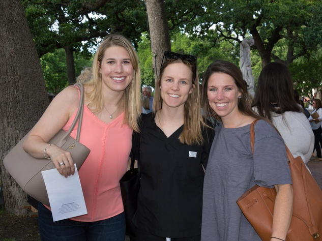 Keely Peebles ,  Jennifer Burns  and  Anna Rayner