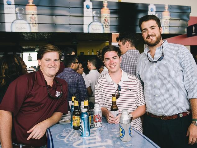 Boys & Girls Harbor Fantasy Football party September 2013 James Bond, Tyler Cunningham, Gregg Ring