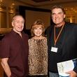 206 Walt and Dot Cunningham, from left, with Dan Pastorini at the Dan Pastorini golf benefit October 2014
