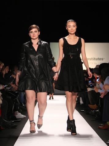 Clifford New York Fashion Week fall 2015 The Art Institutes winners February 2015 Alexa DiBasio designer