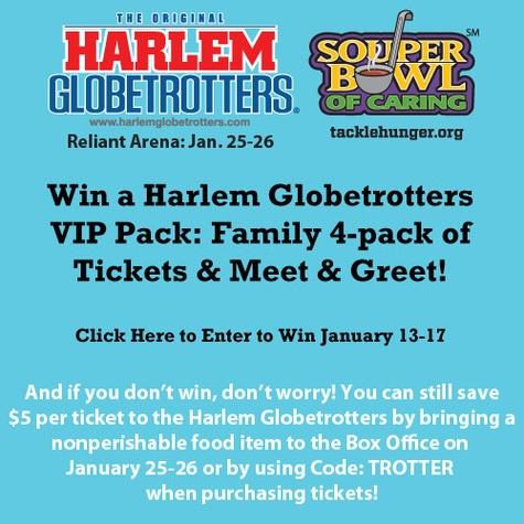 Harlem Globetrotters Giveaway