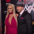 Jenny McCarthy, Donnie Walhberg at Leather and Laces Friday night