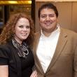 Savannah Thomas and David Cantu at the David Yurman Meteorite Collection launch