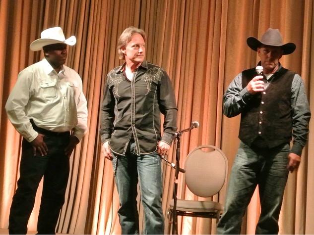 Scott White Darryl Hamilton John N Joyful Horse benefit Austin
