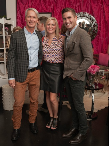 Kurt Anderson, Ashlie Dickie, Grant Jackson, Dwell With Dignity Grand Opening