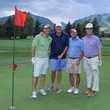 Houston Methodist in Aspen, July 2017, Steven Birdwell, Todd Brock, Brad Brock and Tom Elsenbrook