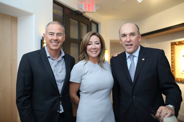 18 Roberto and Claudia Contreras, from left, with Ignacio Torras at the BCN dinner for Texas Children's Hospital September 2014
