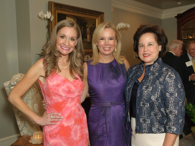 Maggie Kipp, Daffan Nettle and Lisa Longino, celebrating women