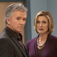 Patrick Duffy and Brenda Strong on Dallas