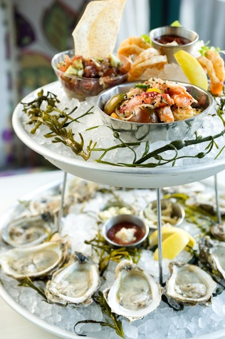 Prohibition seafood tower