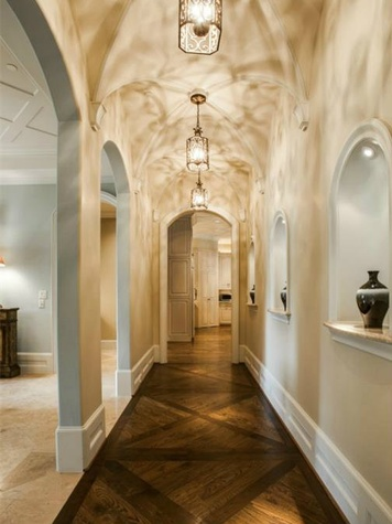 Hallway at 4436 Brookview in Dallas